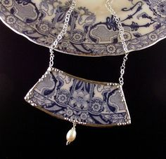 Dishfunctional Designs: Broken China Jewelry in jewelry accessories  with Upcycled Recycled Jewelry
