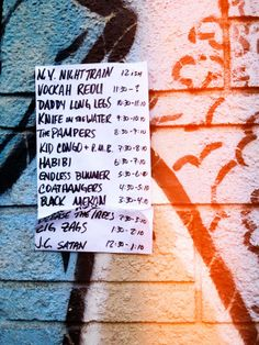 Kid Congo Powers' Birthday Bash line up at the Longbranch
