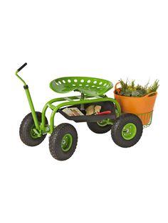 Ordinaire Deluxe Tractor Scoot With Bucket Basket