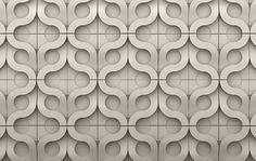 Really cool concrete tiles by Kaza Concrete.