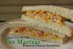 Masters Pimento Cheese sandwich and my day at The Masters Golf Tournament