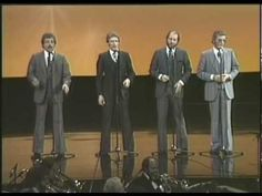"""Apr 2010 The Statler Brothers sing """"How Great Thou Art"""" from their """"An Evening With The Statler Brothers"""" TV show. This has Lew DeWitt, it was taped shortly before he got too sick to travel with the Statlers any longer. Country Music Singers, Country Songs, Southern Gospel Music, Soli Deo Gloria, Christian Music Videos, Church Music, Old Music, Beautiful Voice, Christmas Music"""