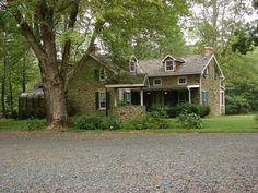 Stone farmhouse,  Bucks County, PA