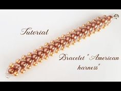 YouTube Beaded Braclets, Beaded Bracelets Tutorial, Seed Bead Bracelets, Handmade Bracelets, Diy Jewelry Videos, Jewelry Making Tutorials, Beading Tutorials, Bead Jewellery, Seed Bead Jewelry