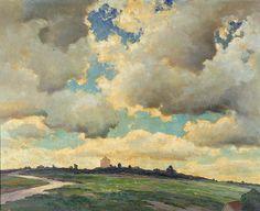 Dedrick Brandes Stuber: Passing Clouds, 1934 by americanartmuseum, via Flickr