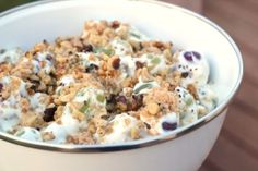 Creamy Grape Dessert