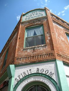 Spirit Room, Jerome, Arizona. Been there, done that!! (lived near there!)
