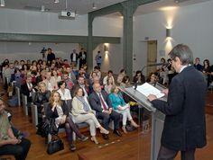 20/05/15. Teodoro Sacristán. Director de la Feria del Libro de Madrid, presentado la 74º Feria del Libro de Madrid a los medios de comunicación. Foto © Jorge Aparicio/ FLM15