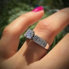 Engagement Jewelry, Engagement Ring Settings, Diamond Engagement Rings, Solitaire Diamond, Diamond Rings, Diamond Clarity, Wedding Engagement, Solitaire Ring Designs, Engagement Rings For Men