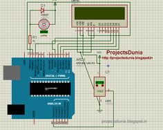 circuit diagram of temperature control fan Arduino Circuit, Block Diagram, Diy Fan, Circuit Diagram, Coding, Projects, Programming