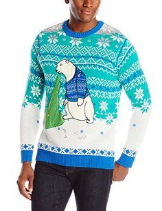 Blizzard Bay Men's Polar Bear Light Up Ugly Christmas Sweater, Blue/White/Green, Large Blizzard Bay http://www.amazon.com/dp/B012TJD9A2/ref=cm_sw_r_pi_dp_pGjBwb0VCRPYV