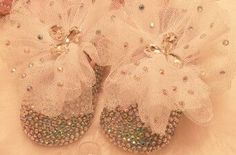 Baby Bling Crystal Newborn Baby Girl Handmade Shoes Booties