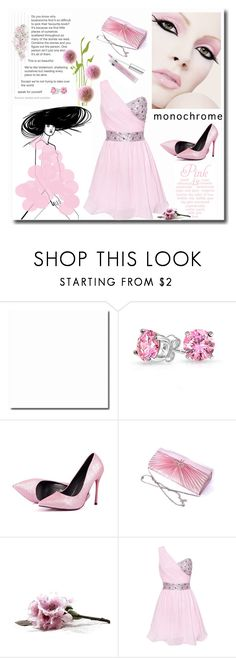 """Color Me Pretty: Head-to-Toe Pink"" by signaturenails-dstanley ❤ liked on Polyvore featuring Bling Jewelry and monochromepink"