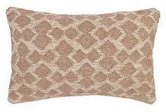 Tribal 14x22 Wool-Blended Pillow, Camel on OneKingsLane.com