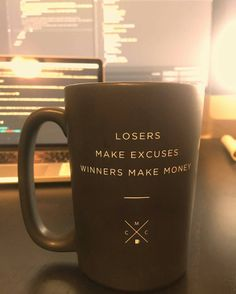 @Regrann from @dvlp.r -  Up since 5:30 because there's never been a truer quote than what's on my coffee cup rn. Meeting at 8 then grinding out some work-work and some personal-work then Equinox for a solid workout a run and then the sauna/steam room/hot tub (in that order)  What about you guys morning person or night owl? - #regrann #entrepreneur  #developer #webdev #coding #javascript #business #quotes #inspiration #geek #nerd #wisdom.  #education #comics #money