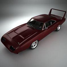 Dodge Charger Daytona Hemi 1969 #dodgechargervintagecars