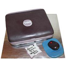 Chocolate Laptop Cake