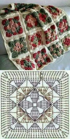 How to Crochet a Solid Granny Square:separator:How to Crochet a Solid Granny Squ. : How to Crochet a Solid Granny Square:separator:How to Crochet a Solid Granny Square Crochet Motifs, Granny Square Crochet Pattern, Crochet Blocks, Crochet Mandala, Crochet Squares, Crochet Blanket Patterns, Crochet Granny, Easy Crochet, Crochet Flowers