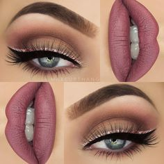 Top 25 Life Changing Eye Makeup Tips For Beginners Stunning Makeup, Pretty Makeup, Love Makeup, Makeup Inspo, Makeup Inspiration, Makeup Ideas, Makeup Style, Makeup Tutorials, Make Up Looks