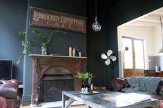 #modern #industrial #vintage - Loungeroom