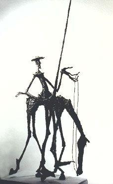 Don Quichotte , Fer Soudé Original