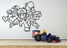 Amazon.com: Wall Room Decor Art Vinyl Sticker Mural Decal Video Game Hero Character Kids Bedroom Boy Girl Nursery Poster AS925: Baby