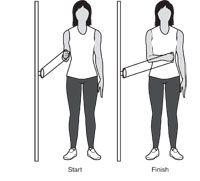 theraband shoulder external rotation  retraction