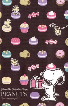 Snoopy and Woodstock yummy