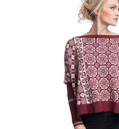 Denne genseren er et adrenalinkick i seg selv. Strikkes i baby alpakka, som er lett, myk og varm. Perfekt for en aktiv kropp.
