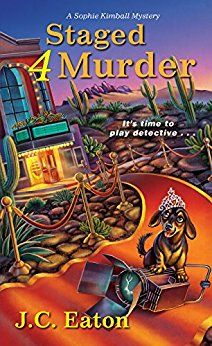 #Review / #Giveaway - Staged 4 Murder (Sophie Kimball Mystery) by J.C. Eaton @KensingtonBooks