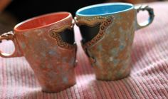 *Baroque-Vintage-Provence-fashion* Unique handmade creations mug