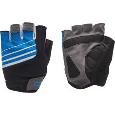 Bell Sports 7076496 Ramble 500 Half-Finger Cycling Gloves Large/Extra Large Blue/White