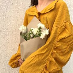 Image about girl in 〈 ғᴀsʜɪᴏɴ ; 时尚 〉 by 愛美 on We Heart It Mellow Yellow, Mustard Yellow, Mustard Seed, Merian, Aesthetic Colors, Aesthetic Yellow, Flower Aesthetic, Art Hoe, Kawaii