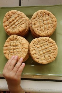 These were possibly the best Peanut Butter Cookies I've ever made.