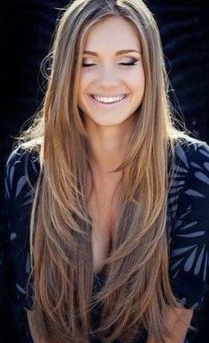 19 Best Womens Haircuts For Long Straight Hair With Layers And Side Bangs Long Layered Hair Straight bangs Hair Haircuts Layers long side straight Womens Haircuts For Long Hair With Layers, Long Layered Haircuts Straight, Long Straight Hairstyles, Layered Long Hair, Long Straight Layers, Hair Layers, Layered Cuts, Highlights For Straight Hair, Long Haircuts For Women