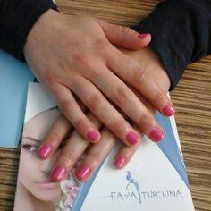 #manicure #shellac #hotpoppink #CNDshellac
