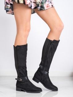 Semišové oficierky Riding Boots, Shoes, Fashion, Horse Riding Boots, Moda, Zapatos, Shoes Outlet, Fashion Styles, Shoe