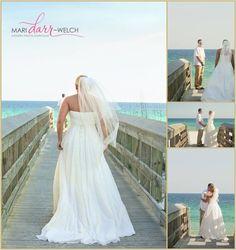 Destin Beach Wedding Photography  www.maridarrwelch...