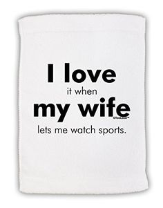TooLoud I Love My Wife  Sports Micro Terry Sport Towel 11x18 >>> Read more  at the image link. (This is an Amazon affiliate link and I receive a commission for the sales and I receive a commission for the sales)