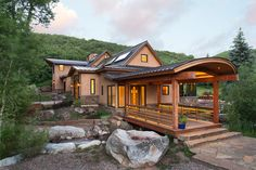 Timberframe & Strawbale Home in Old Snowmass   Strawbale Construction in Colorado   Land + Shelter