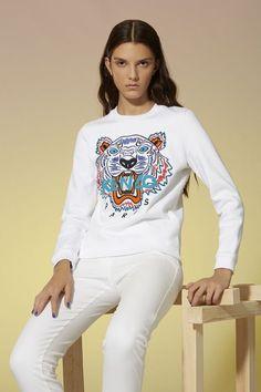 Kenzo Tiger Sweatshirt - Kenzo Spring Summer 2014 Women - Kenzo E-shop  Sweat Kenzo b35d9d5f63