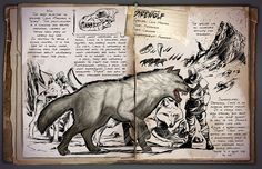 ARK Survival Evolved: Introducing the Direwolf