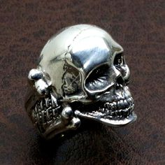 Check out this item in my Etsy shop https://www.etsy.com/listing/213971511/skull-mens-jewelery-biker-ring