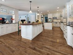 tiles with imitation wood looks very nice the more it will cost several times cheaper