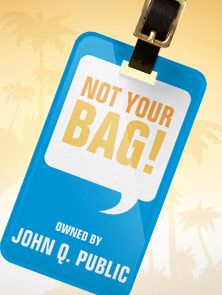 Zazzle Luggage Tags - Nobody will lay a hand on your bag when you've got a fun and custom luggage tag.