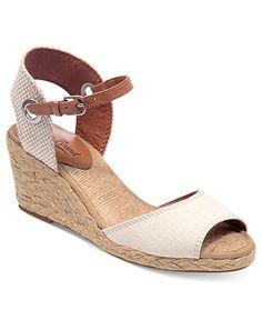 Lucky Brand Women's Shoes, Kyndra Demi Platform Wedge Sandals - Espadrilles & Wedges - Shoes - Macy's