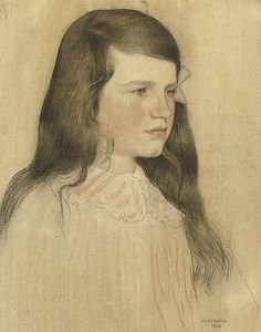 Portrait of a young girl by artinconnu, via Flickr