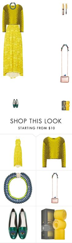 """""""Grace"""" by zoechengrace ❤ liked on Polyvore featuring TIBI, Alexander Wang, Proenza Schouler, Sophia Webster, Kenzo and Drybar"""