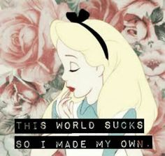 ALICE IN WONDERLAND | DIRECTIONS TO MYSELF.
