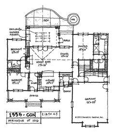 Plan 1335: Conceptual Design – Donald A. Gardner, Architects